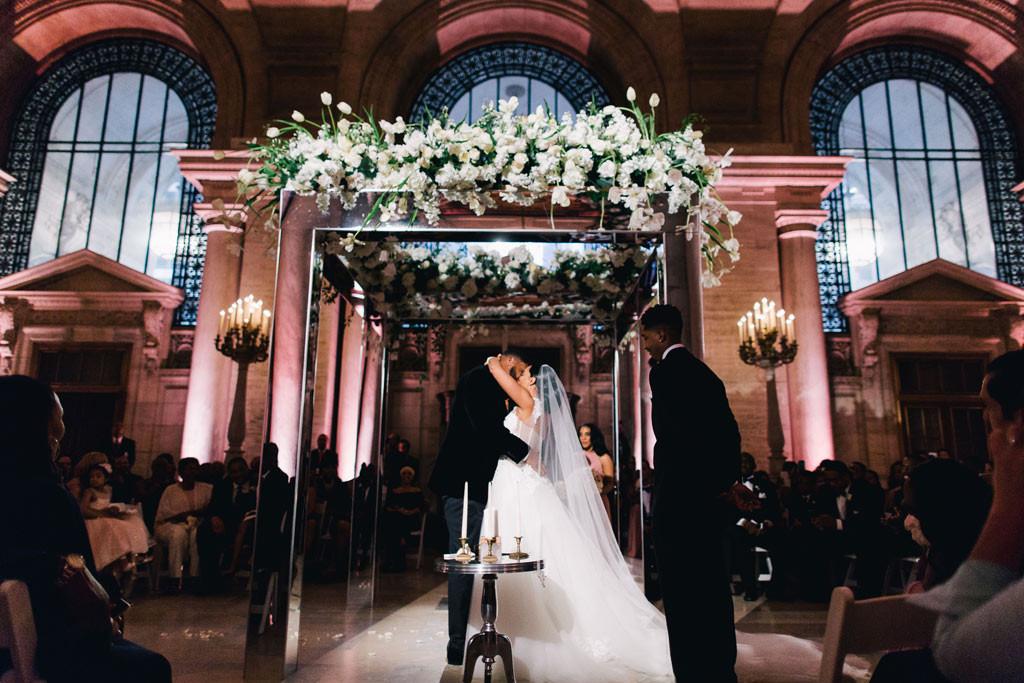 Devon Still, Asha Joyce, Wedding
