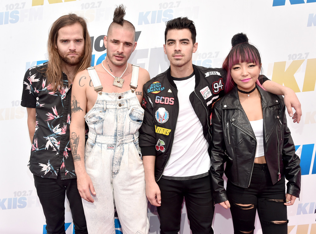 Jack Lawless, Cole Whittle, Joe Jonas, JinJoo Lee,DNCE , KIIS FM Wango Tango 2016