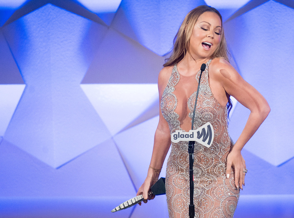 Mariah Carey Quotes Her Son While Being Honored at GLAAD ...