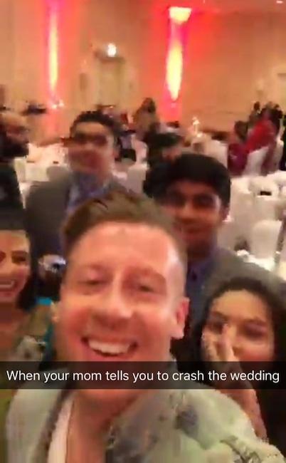 Macklemore, Wedding Crasher