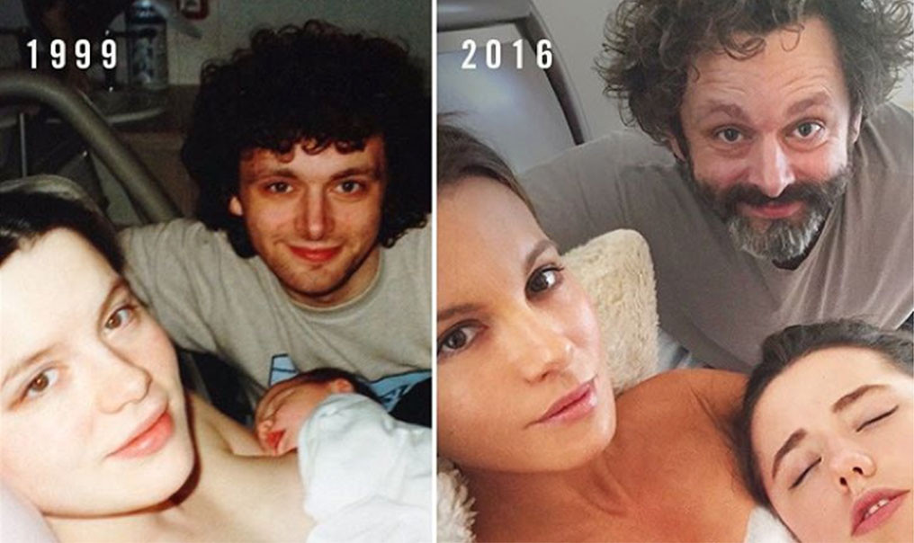 Kate Beckinsale, Michael Sheen, Lily Beckinsale, Instagram