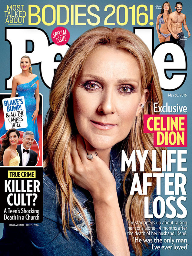 Celine Dion, People Magazine