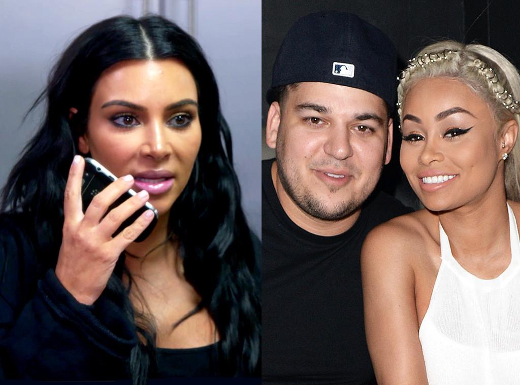 Kim Kardashian, Rob Kardashian, Blac Chyna