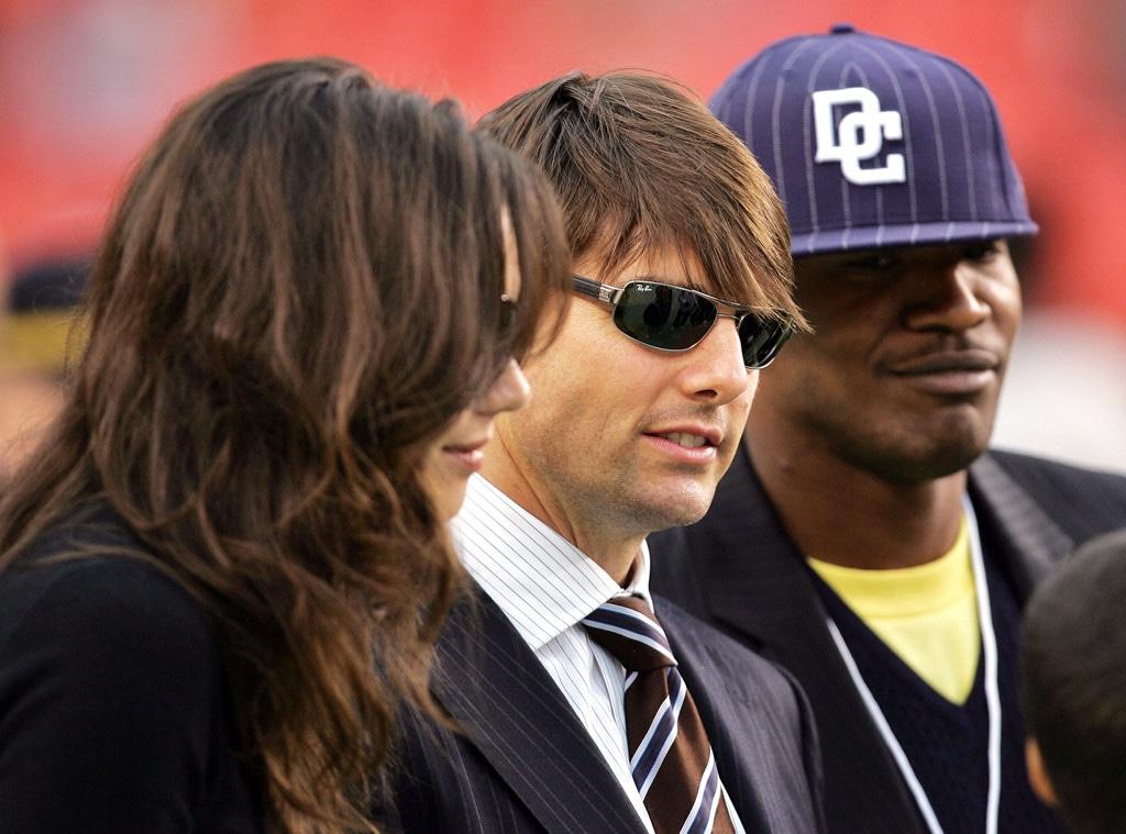 Katie Holmes, Jamie Foxx, Tom Cruise