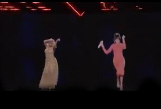 Christina Aguilera, Whitney Houston
