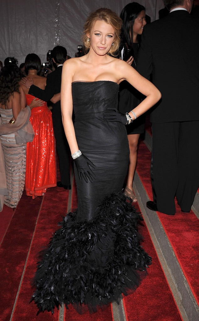 Blake Lively, First Met Gala, 2008