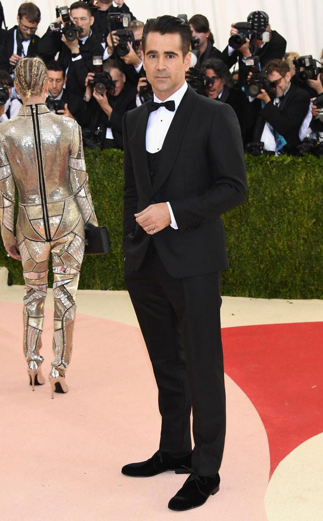 Colin Farrell, MET Gala 2016, Arrivals