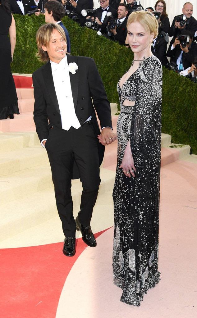 Nicole Kidman, Keith Urban, MET Gala 2016, Couples