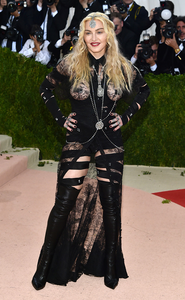 Madonna, MET Gala 2016, Arrivals