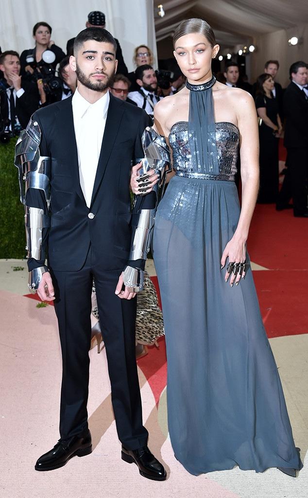 Gigi Hadid, Zayn Malik, Met Gala 2016, Couples