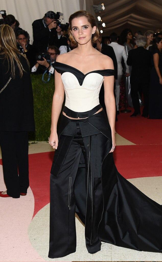 Emma Watson, MET Gala 2016, Arrivals
