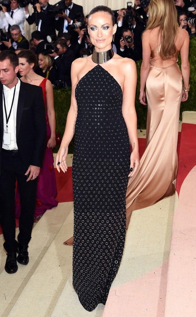 Olivia Wilde, MET Gala 2016, Arrivals