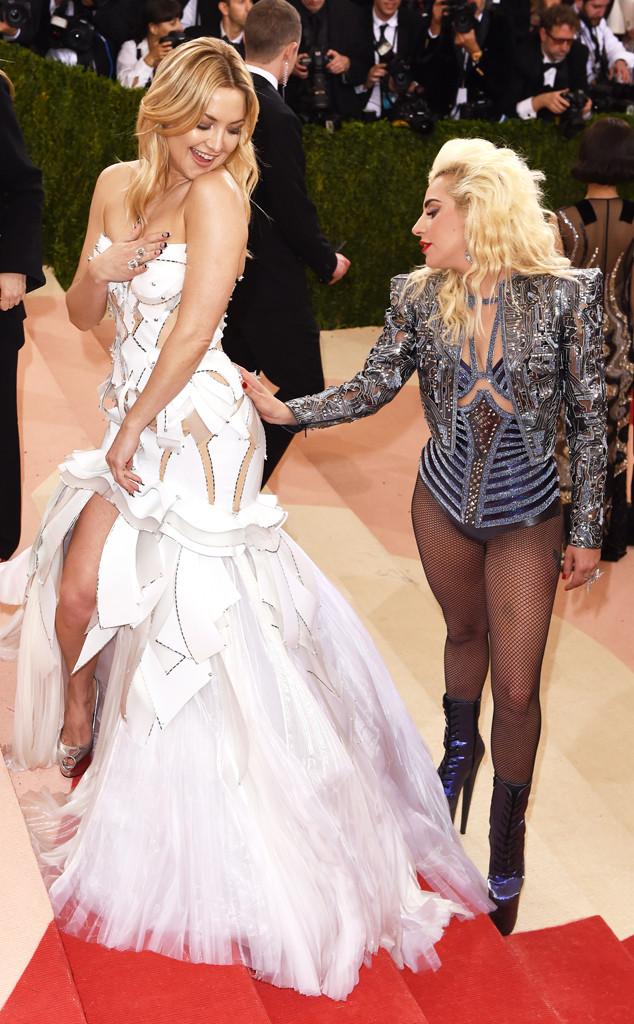 Kate Hudson, Lady Gaga, MET Gala 2016, Candids