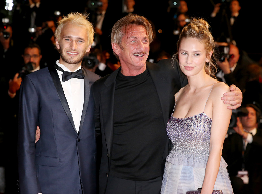 Hopper Penn, Sean Penn, Dylan Penn, Cannes 2016