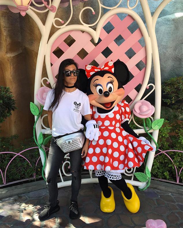 Kourtney Kardashian, Minnie Mouse