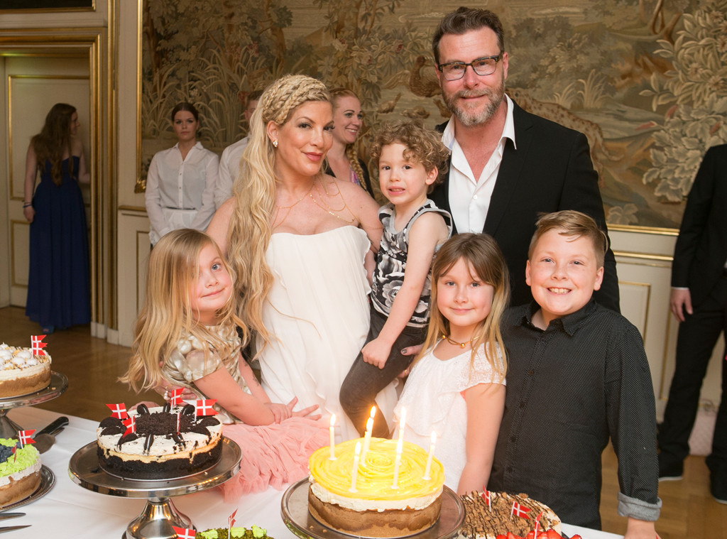 Tori Spelling Celebrates 43rd Birthday With Husband, Kids and New ...
