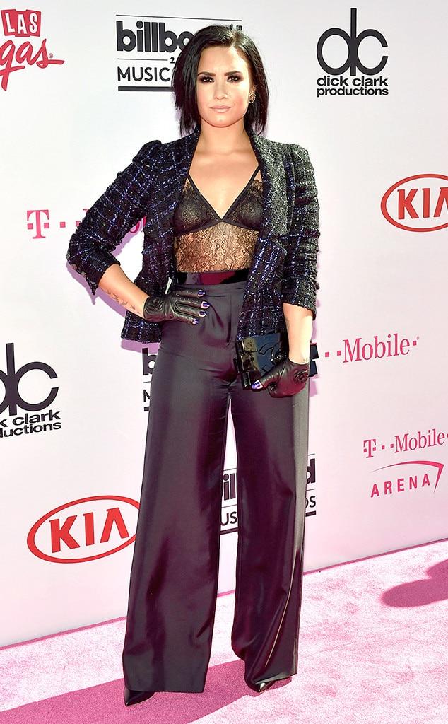 Demi Lovato From Billboard Music Awards 2016 Red Carpet Arrivals E News