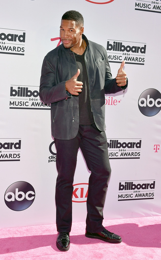 Michael Strahan, 2016 Billboard Music Awards
