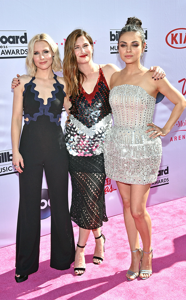 Kristen Bell, Kathryn Hahn, Mila Kunis, 2016 Billboard Music Awards