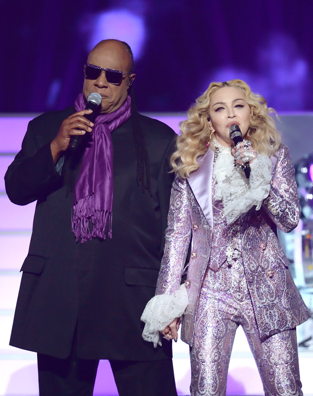 Stevie Wonder,  Madonna, 2016 BIllboard Music Awards, show