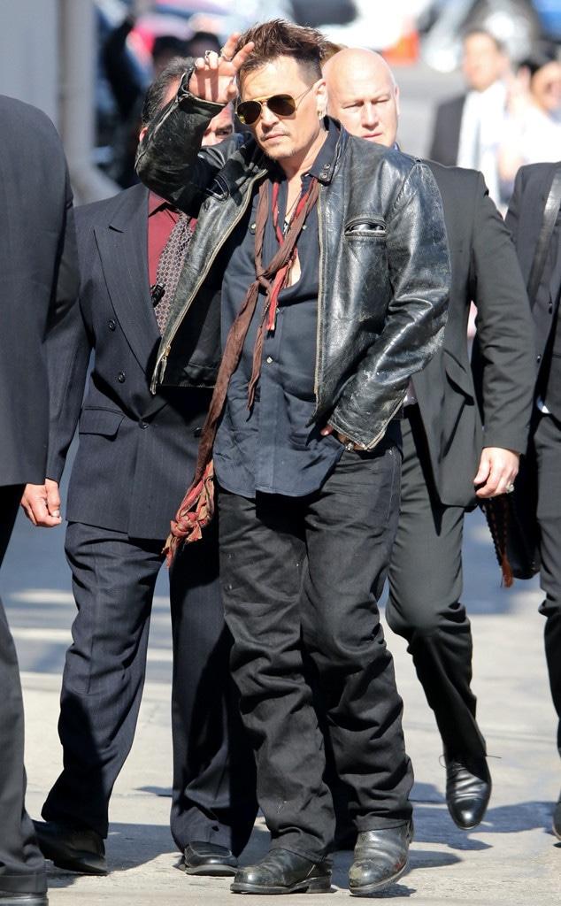 Johnny Depp, Jimmy Kimmel Live