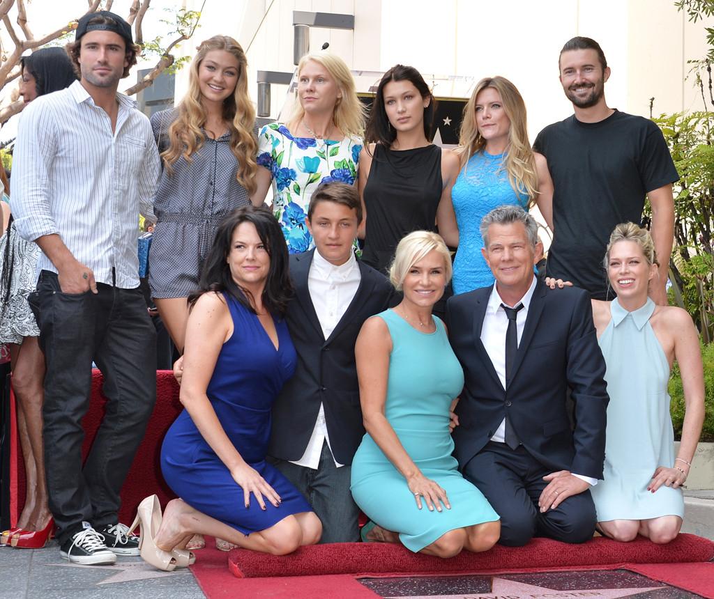 David Foster, Yolanda Foster, Gigi Hadid, Bella Hadid, Brody Jenner