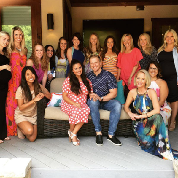 Catherine Lowe, Baby Shower