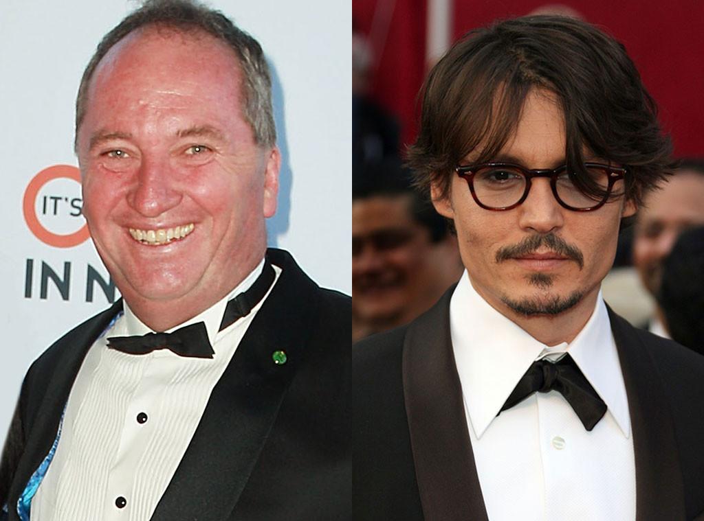 Barnaby Joyce, Johnny Depp