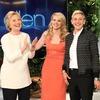 Kate McKinnon, Ellen DeGeneres, Hillary Clinton