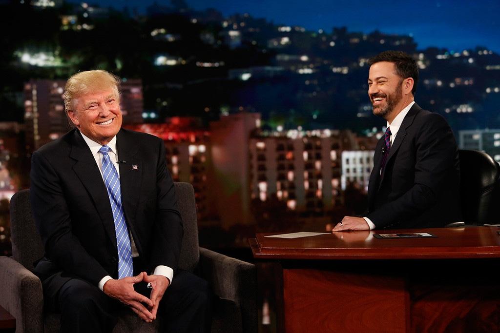 Donald Trump, Jimmy Kimmel