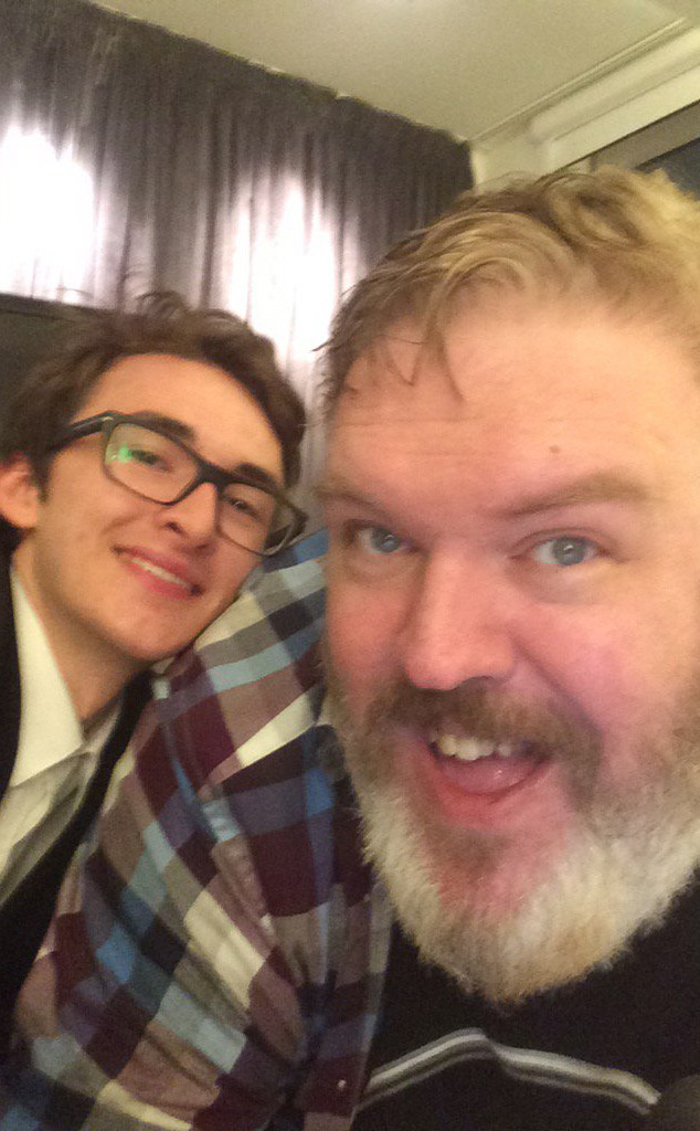 Kristian Nairn, Isaac Hempstead-Wright, Game of Thrones