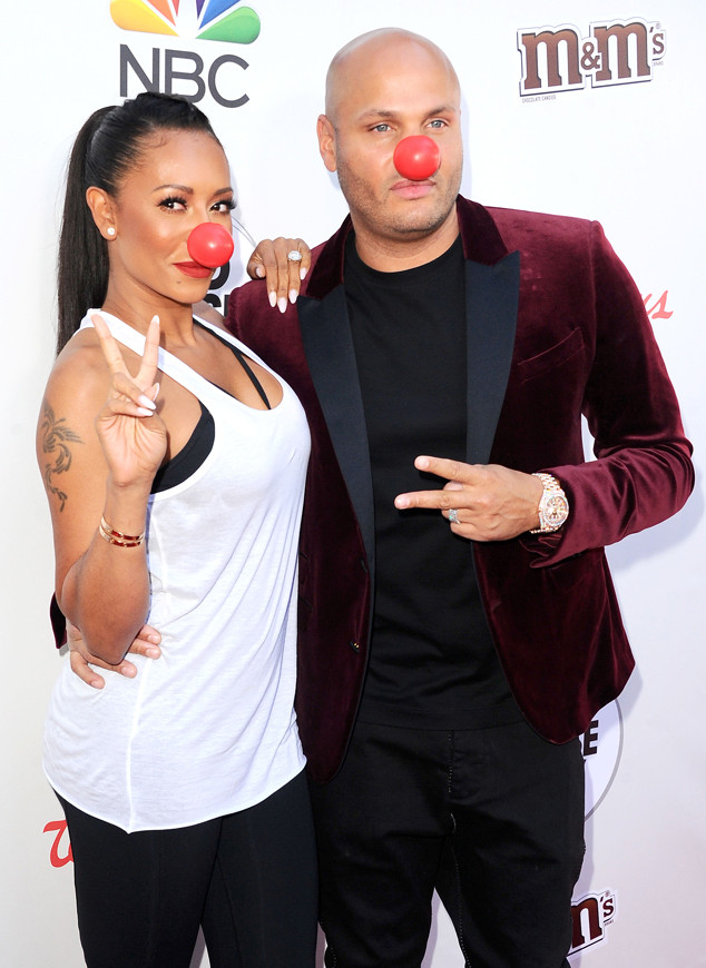 Melanie Janine Brown, Mel B, Stephen Belafonte, Red Nose Day