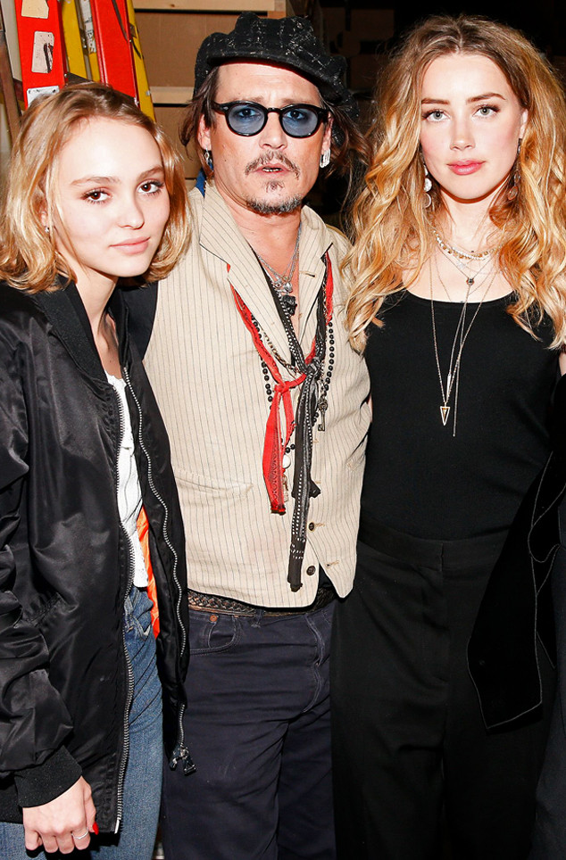 Amber Heard, Johnny Depp, Lily-Rose Depp