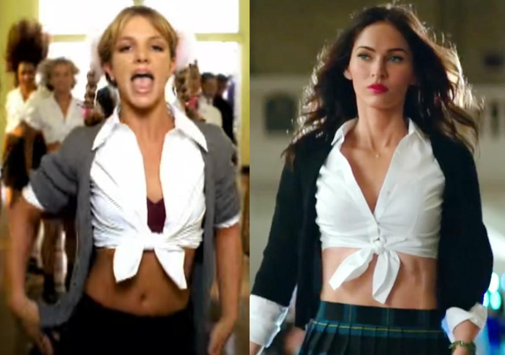 Baby One More Time, Britney Spears, Megan Fox, Teenage Mutant Ninja Turtles 2