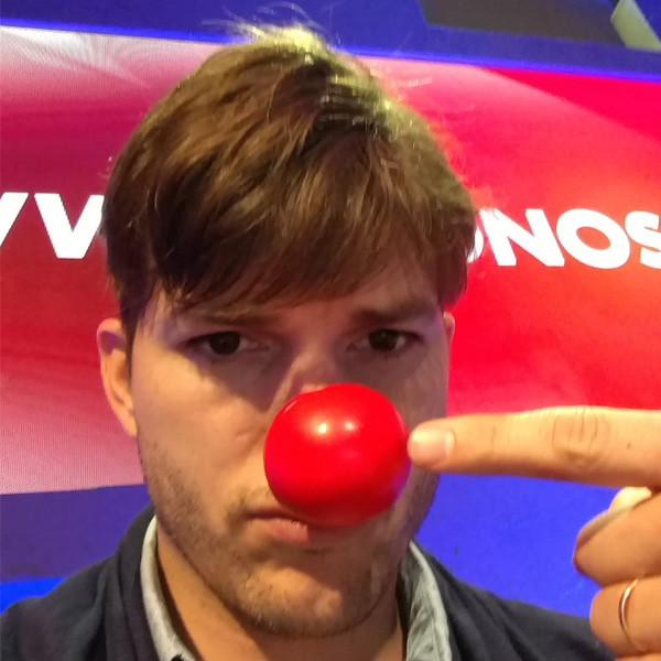 Ashton Kutcher, Red Nose Day 2016