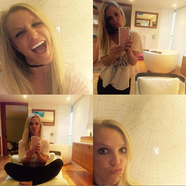 Britney Spears Kicks Off Summer With a Much Needed Haircut ... Britney Spears Instagram
