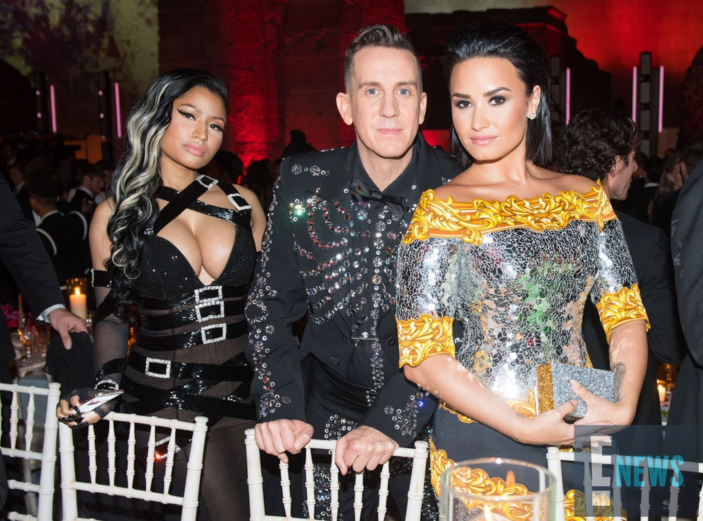 Nicki Minaj, Jeremy Scott, Demi Lovato, MET Gala 2016, Inside Pics, Exclusive