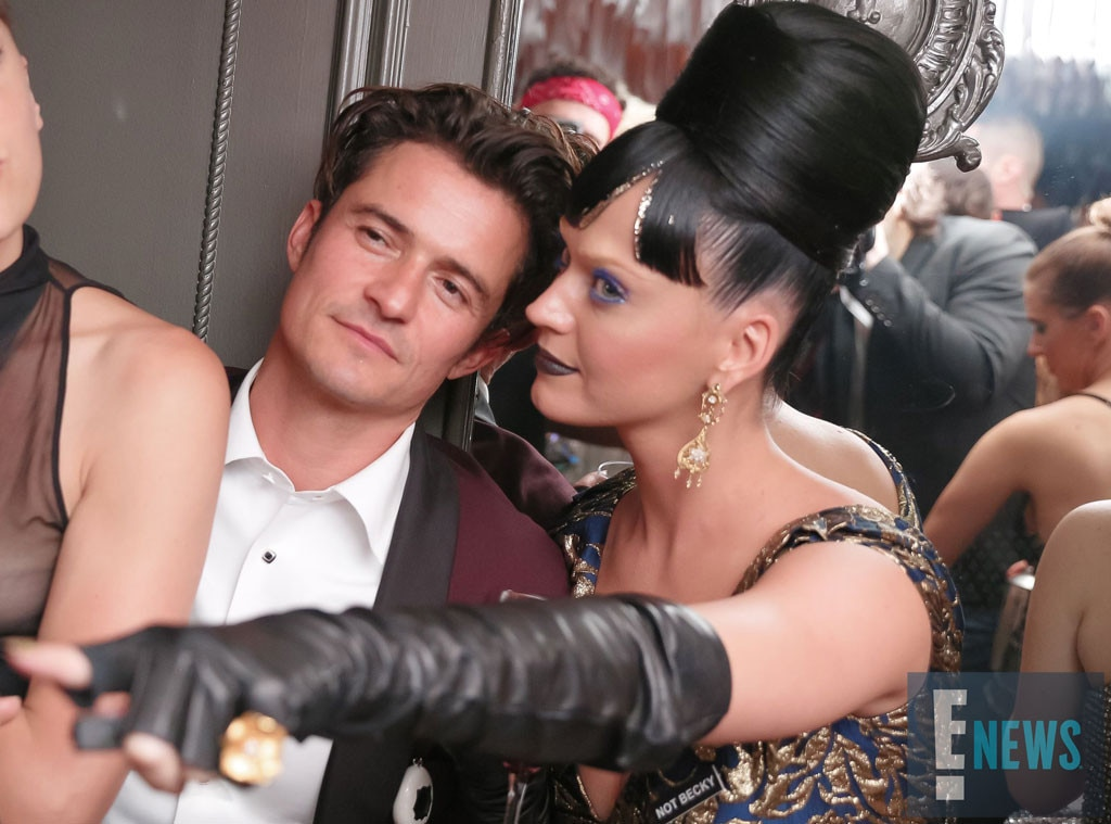Orlando Bloom, Katy Perry, MET Gala 2016, Inside Party Pics, Exclusive