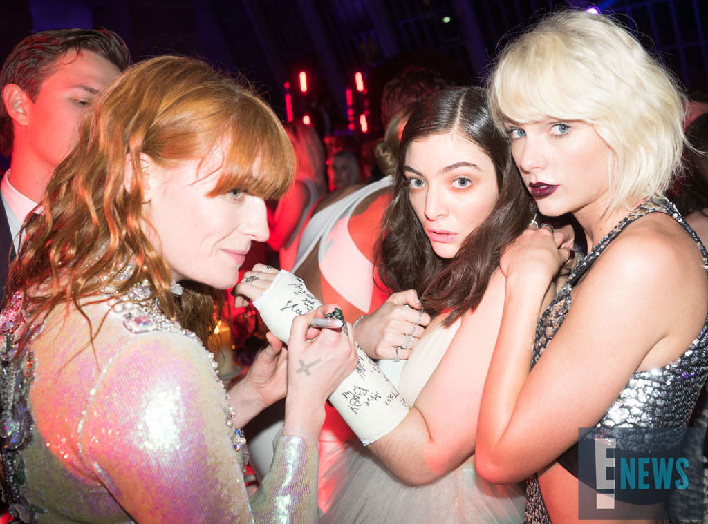 Florence Welch, Lorde, Cast, Taylor Swift, MET Gala 2016, Inside Pics, Exclusive
