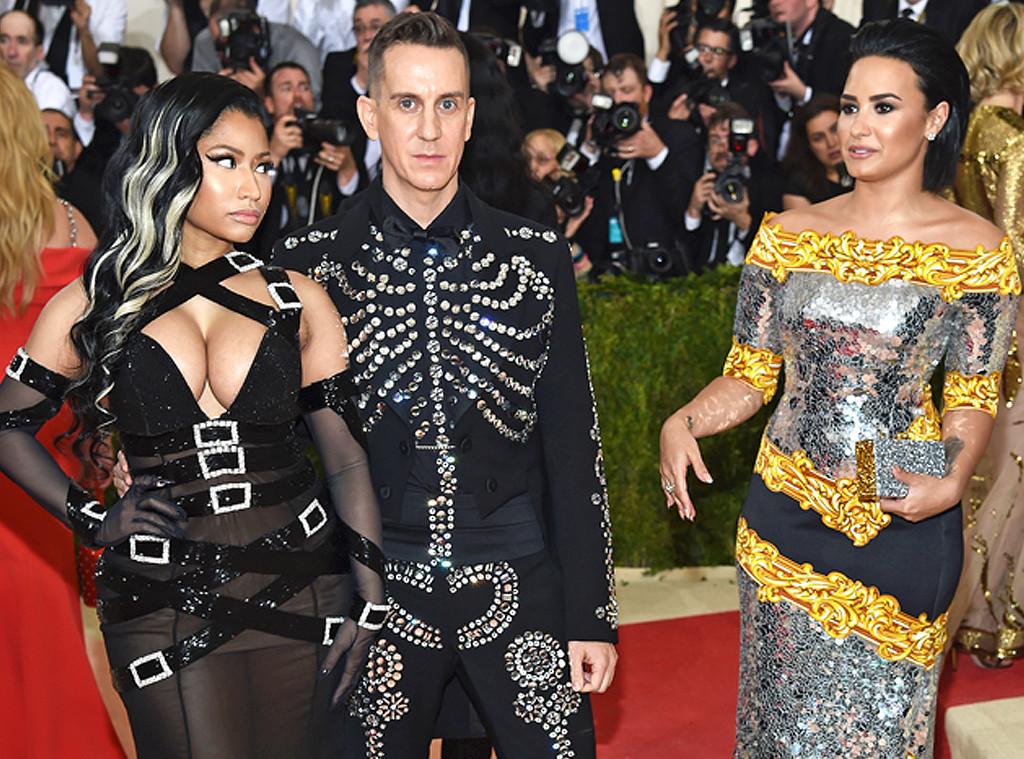 Demi Lovato, Nicki Minaj, MET Gala 2016, Arrivals