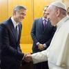 George Clooney, Amal Clooney, Pope Francis