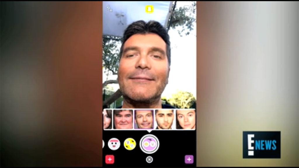 Simon Cowell's Got Talent: We Judge His Selfie Filters