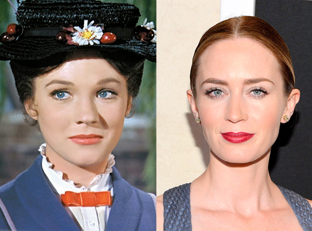 Mary Poppins, Julie Andrews, Emily Blunt