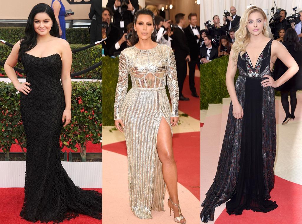 Ariel Winter, Kim Kardashian, Chloe Grace Moretz