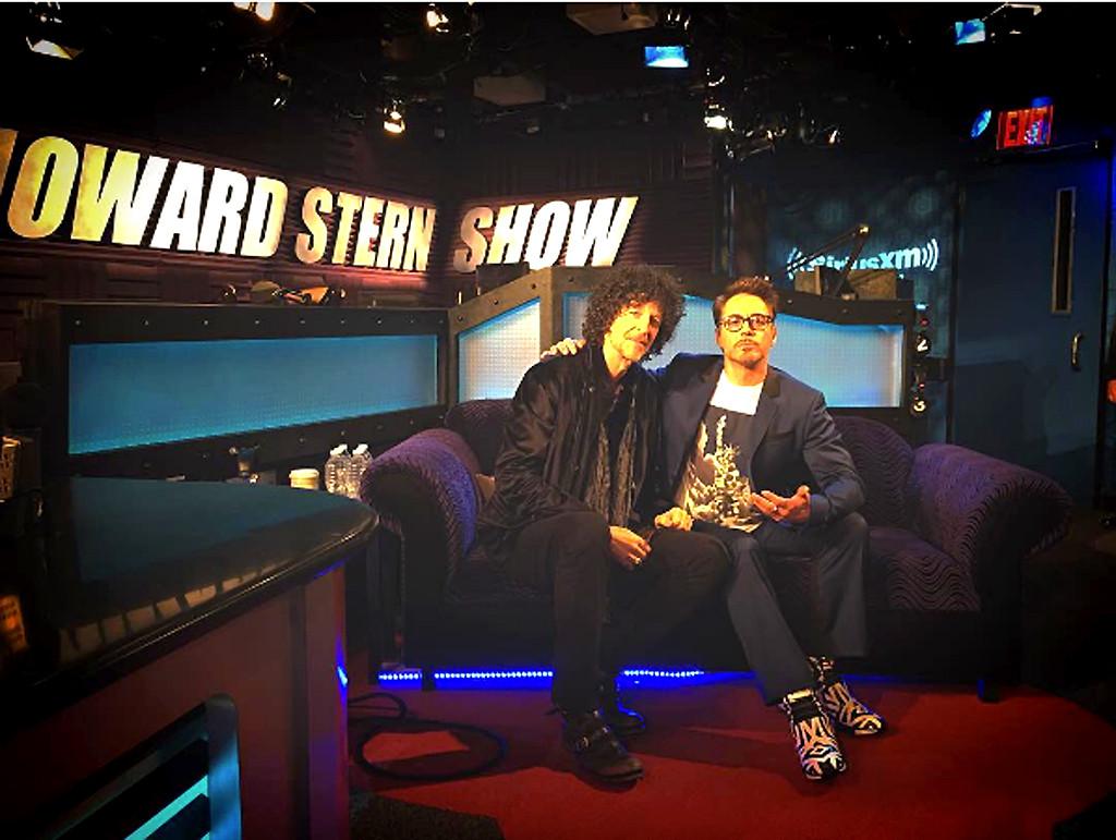 Robert Downey Jr., Howard Stern Show