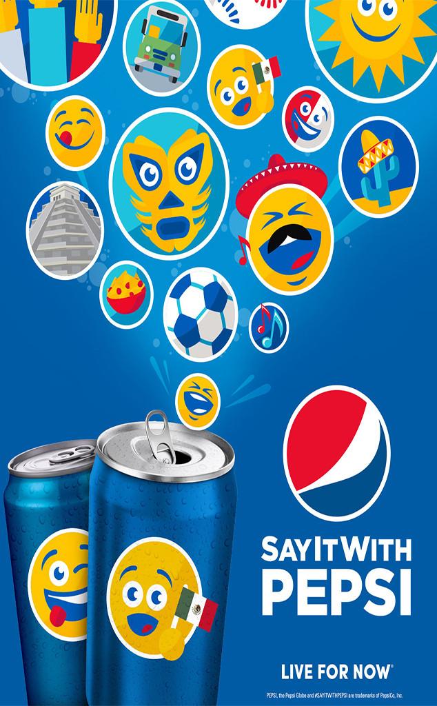 PepsiMoji Cans