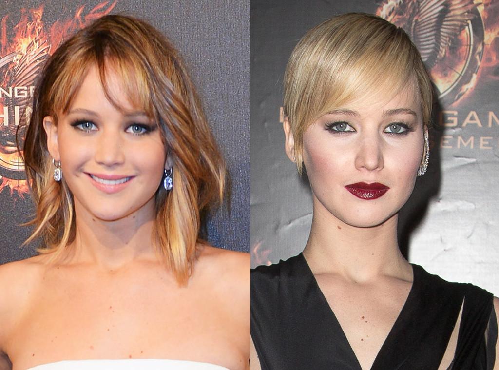Jennifer Lawrence, Extreme Hair Cut