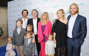 Oliver Hudson, Kurt Russell, Goldie Hawn, Kate Hudson, Wyatt Russell, Annual Goldie's Love In For Kids