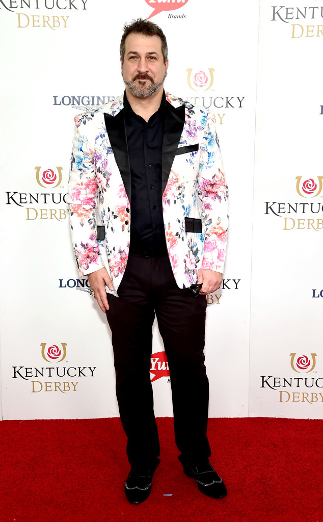 Joey Fatone, Kentucky Derby 2016