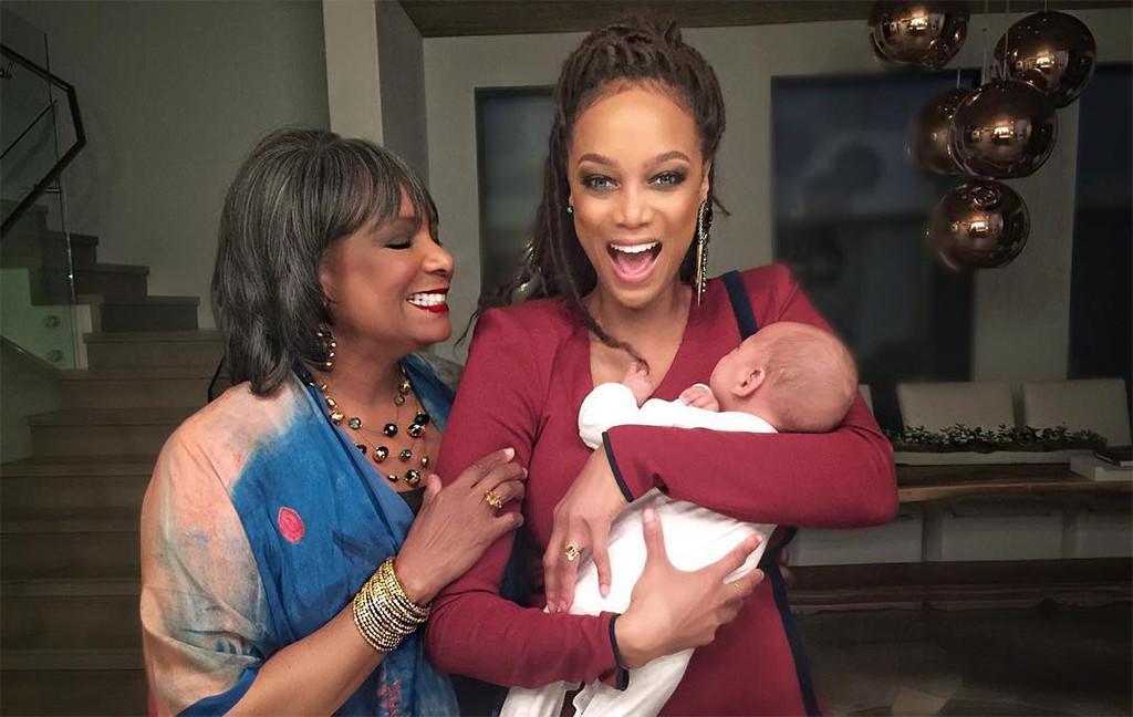Tyra Banks, Son York Banks Asla, Mother Carolyn London